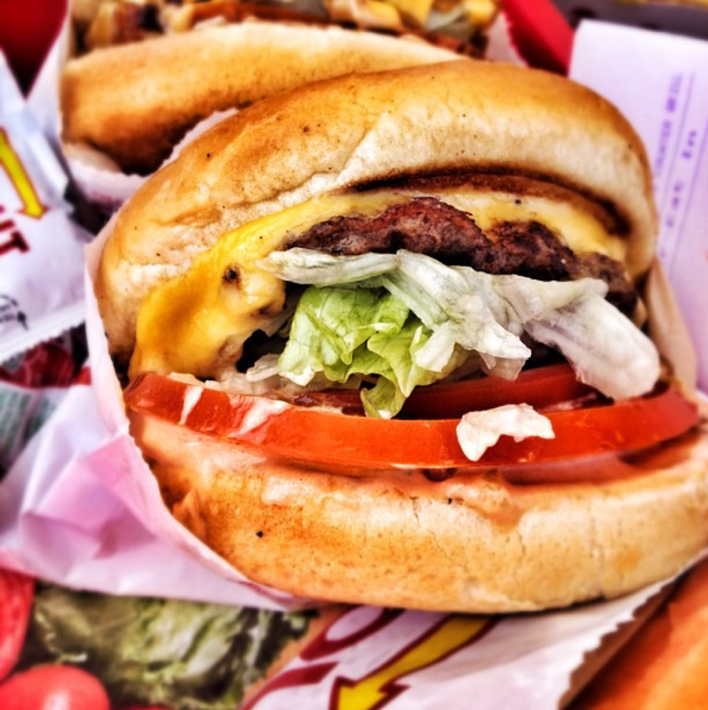 In-N-Out Burger, Los Angeles, California