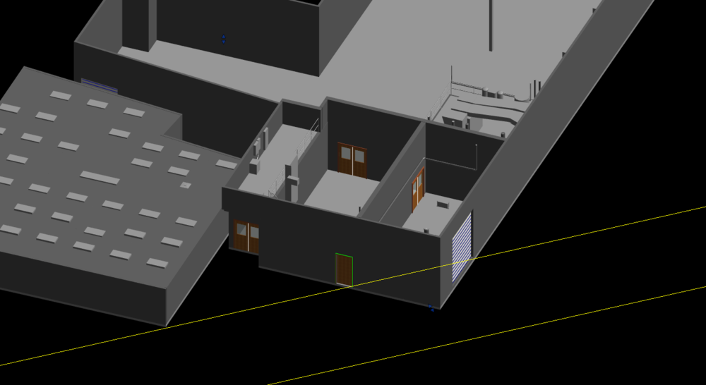 3D Model of Architectural Design  LOD: 200  Space Planning and Renovation