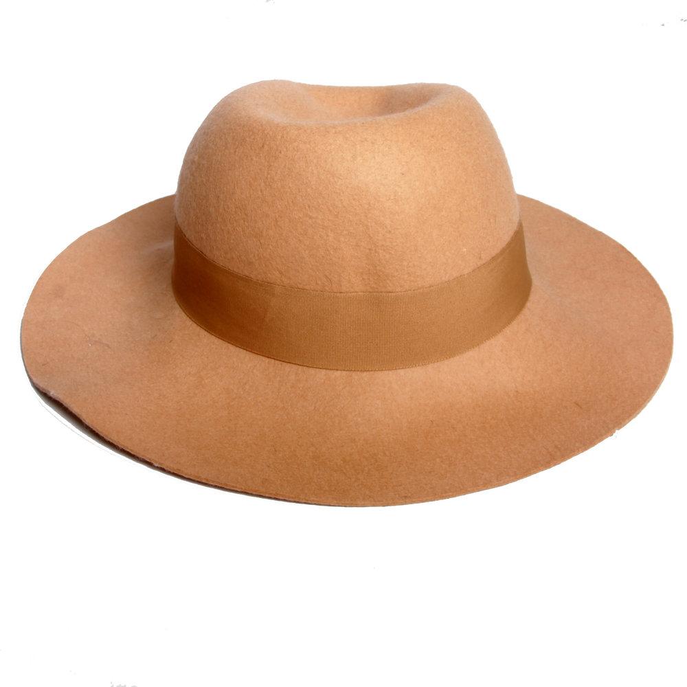 Brown Sun Hat .JPG