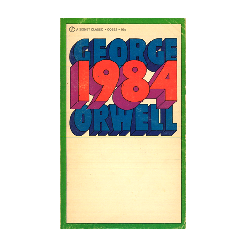 1984 by George Orwell | A Blog About Books | Dystopian Novel