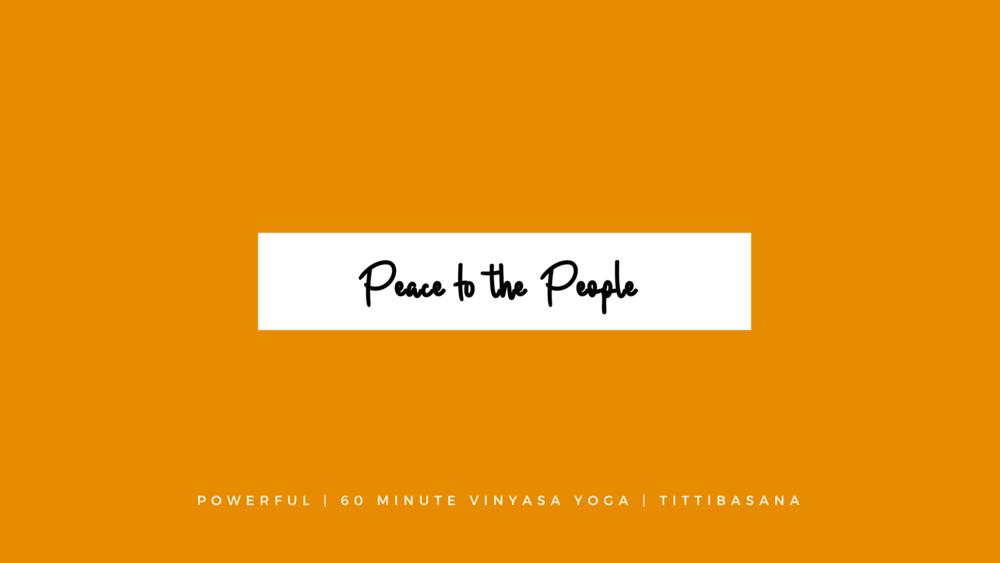 Online Yoga Class | Powerful Vinyasa Yoga Class | Arm Balance, Tittibasana