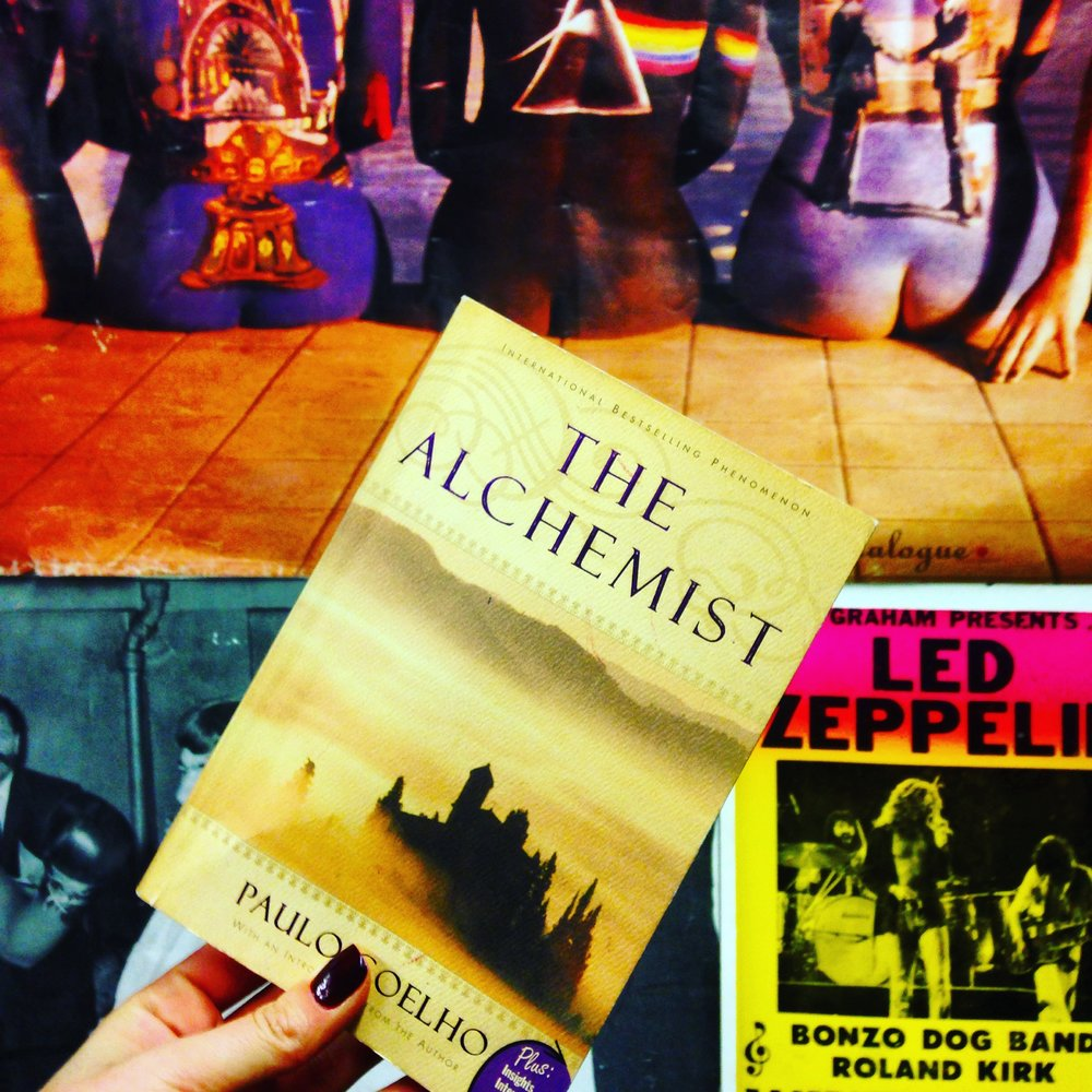 The Alchemist by Paulo Coelho | Book Lists, Books, Inspiration, Quotes, Pink Floyd, Led Zeppelin