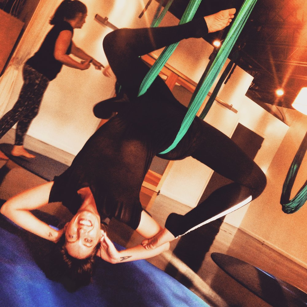 Aerial Yoga | Mermaid Pose | Yoga Teacher, Yoga Classes, Peace to the People