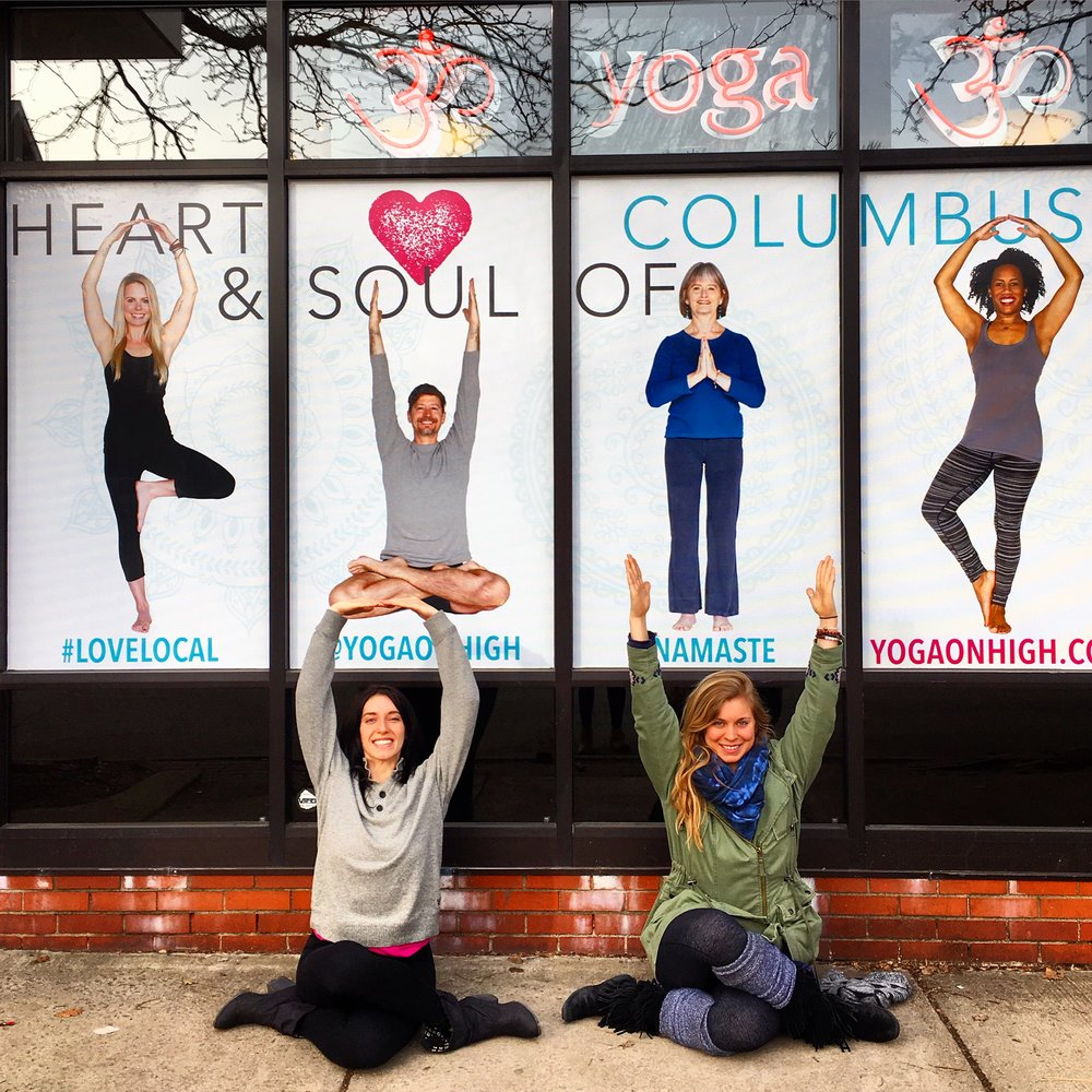 Heart and Soul of Columbus, Yoga on High | O-H | Ohio State University, Buckeyes, Yoga, Columbus, Short North