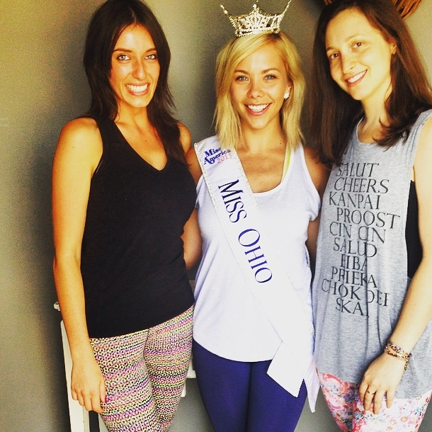 Miss Ohio | Grandview Heights Columbus, Ohio | Yoga Fundraiser