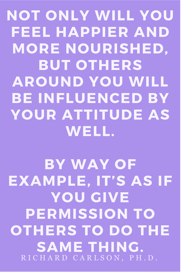 Don't Sweat the Small Stuff Inspirational Quotes by Richard Carlson, Ph.D.  Books, Motivation, Presence, Kindness, Optimism