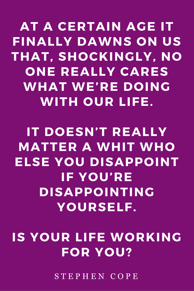 The Great Work Of Your Life by Stephen Cope, Inspiration, Books, Quotes, Dharma, Disappoint