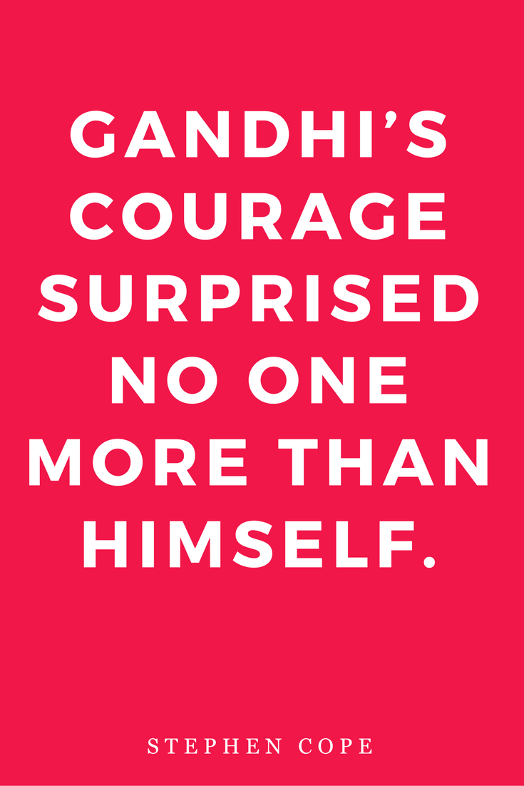 The Great Work Of Your Life by Stephen Cope, Inspiration, Books, Quotes, Harmony, Courage Gandhi