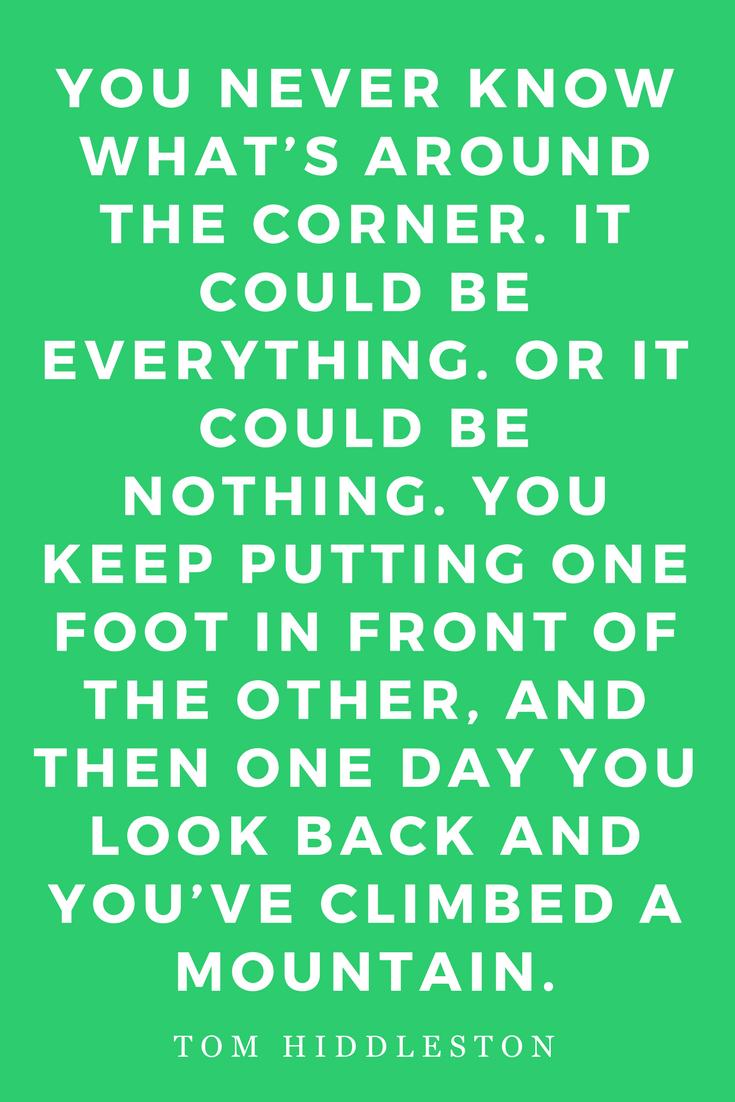 Mantras Inspiration Motivation Mountain