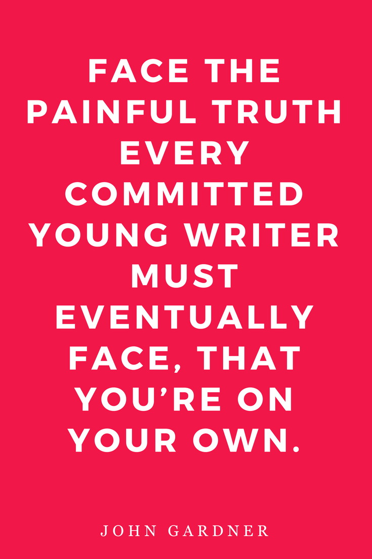 On Becoming a Novelist Quotes Writers Inspiration Motivation Writing On Your Own