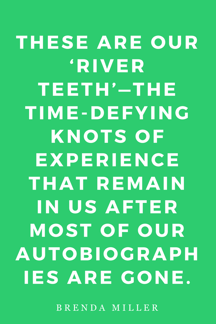Tell It Slant, Writing Creative Non-Fiction by Brenda Miller, Quote, Inspiration, River Teeth