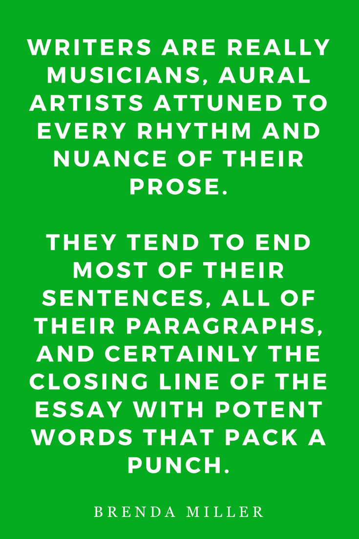 Tell It Slant, Writing Creative Non-Fiction by Brenda Miller, Quote, Inspiration, Aural Artists