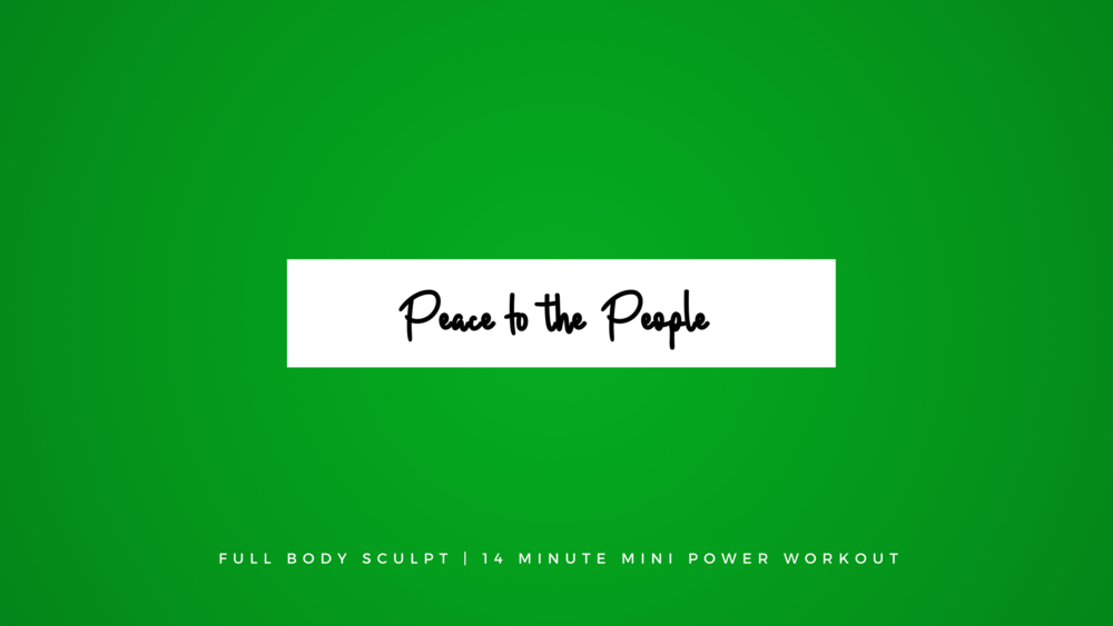 Full Body Sculpt | 14 Minute Mini Power Workout