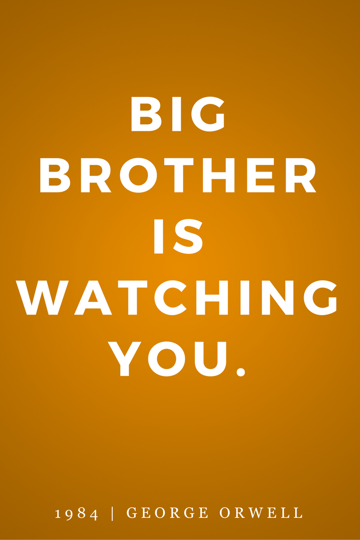 1984 by George Orwell, Quotes, Books, Inspiration, Big Brother