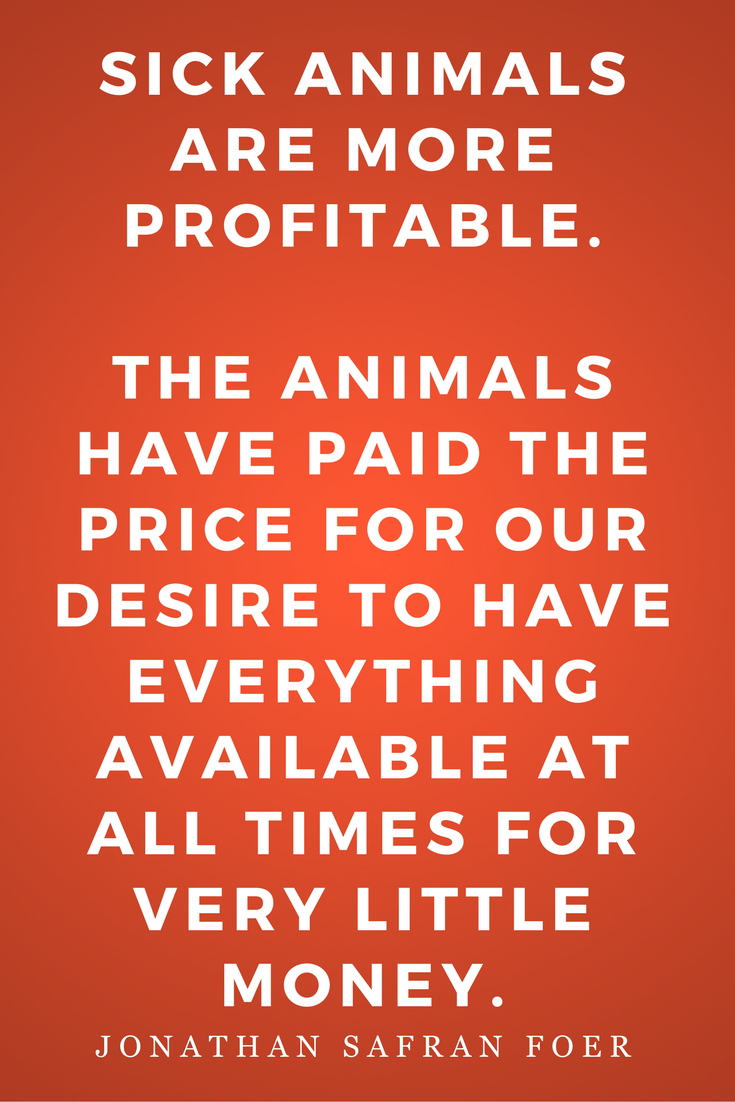 Eating Animals by Jonathan Safran Foer, Diet, Quotes, Books, Inspiration, Sick
