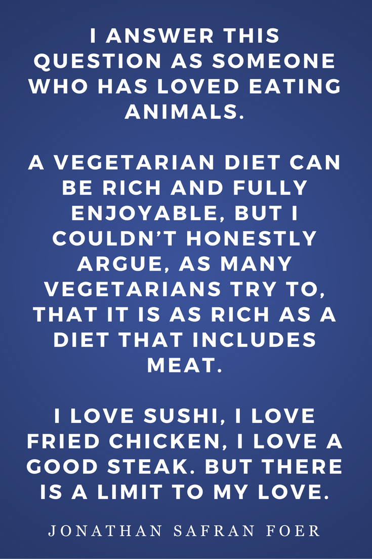 Eating Animals by Jonathan Safran Foer, Diet, Quotes, Books, Inspiration, Limit