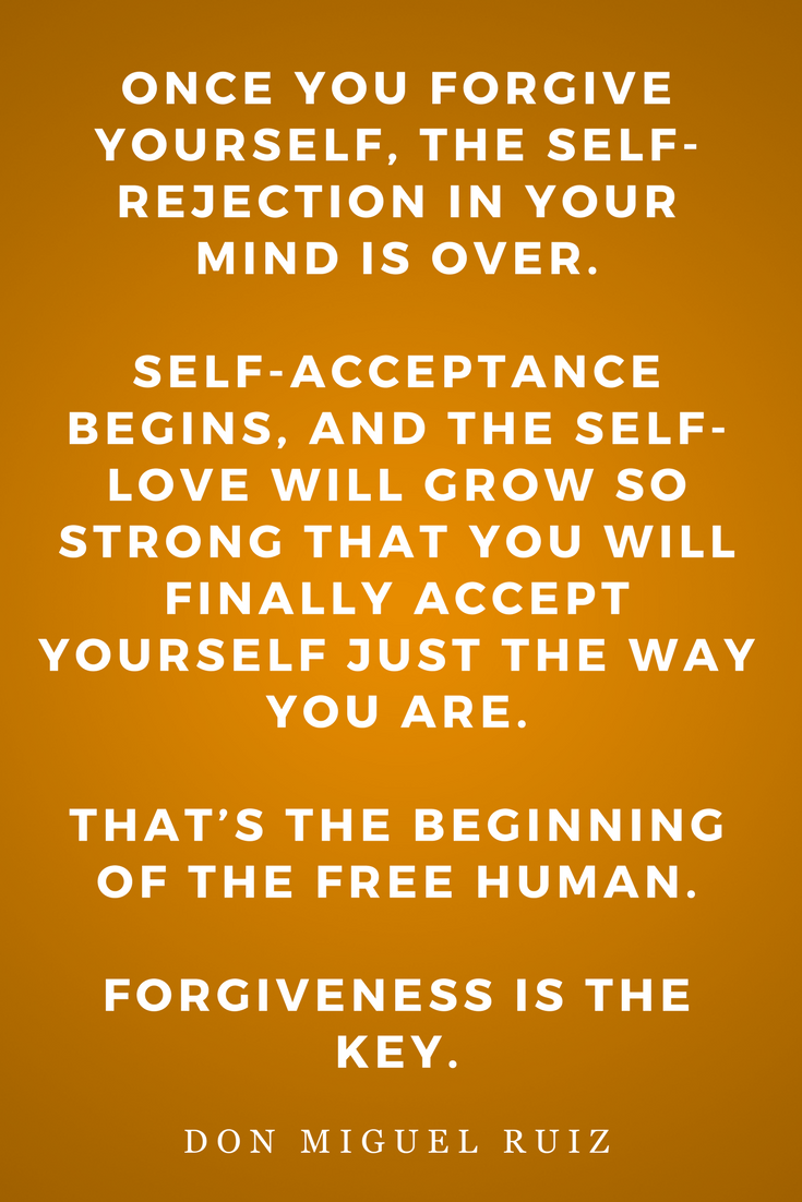 The Four Agreements by Don Miguel Ruiz, Life, Inspiration, Quotes, Books, Forgive Yourself