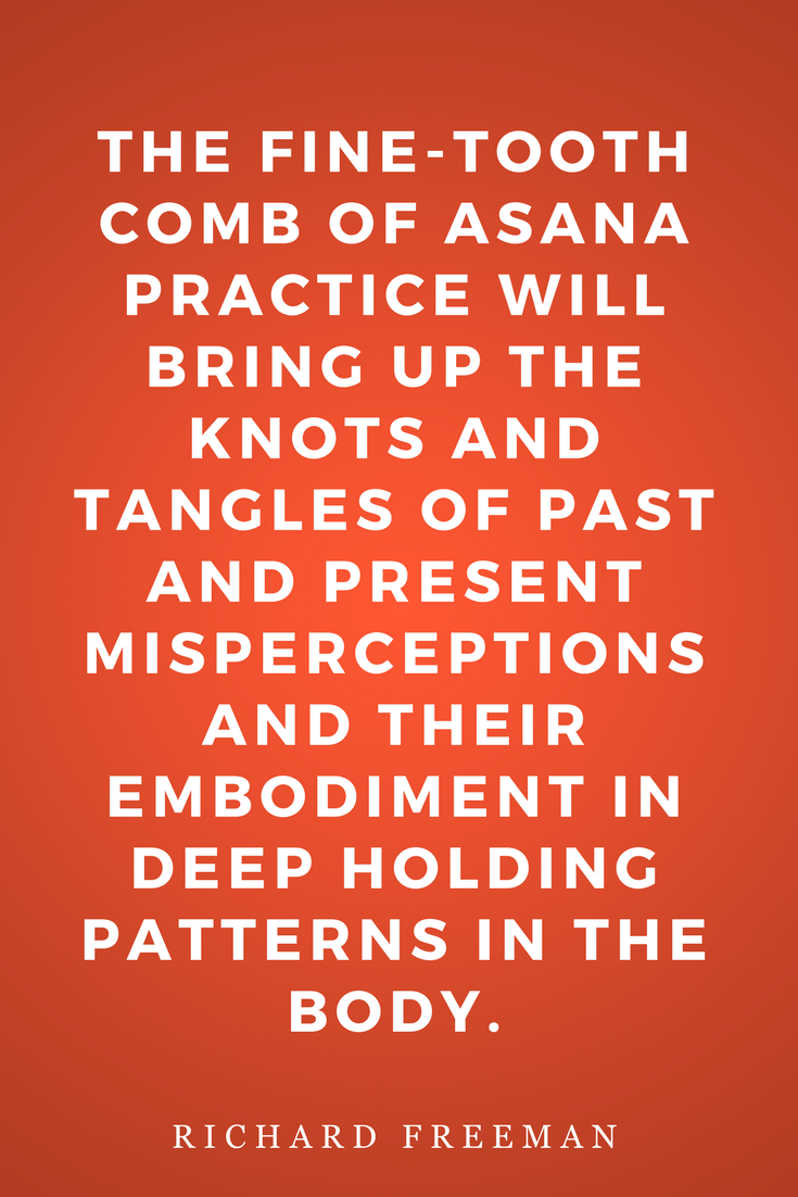 The Mirror of Yoga by Richard Freeman, Life, Inspiration, Quotes, Books, Asana