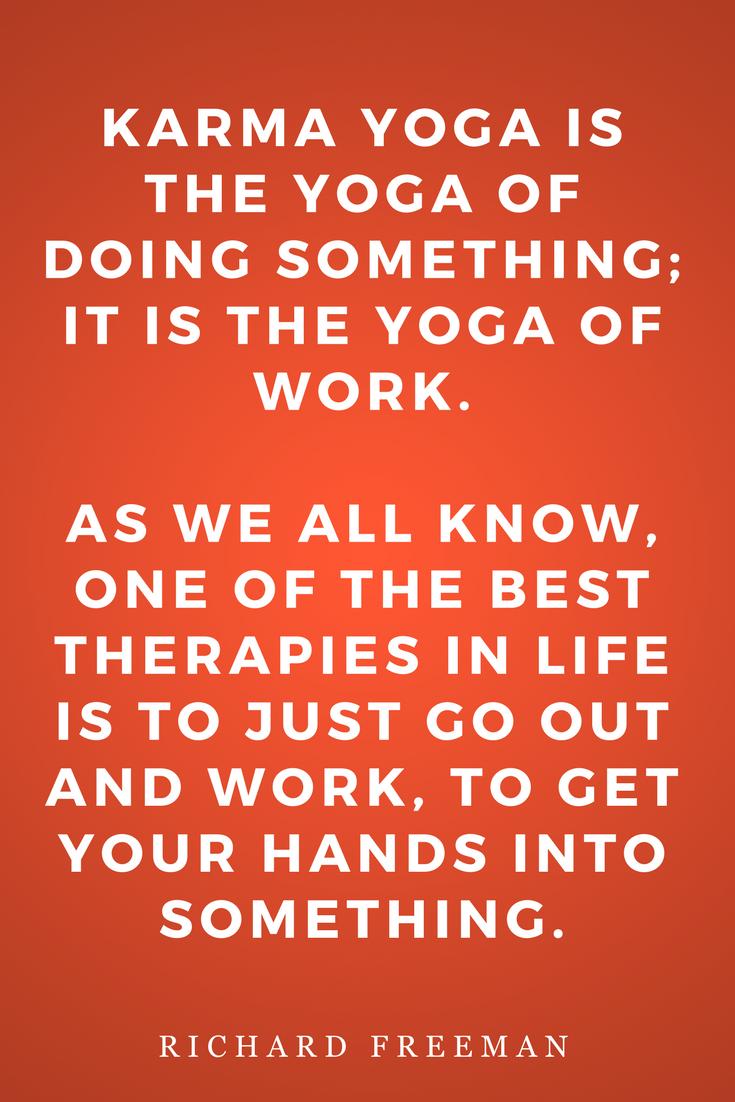 The Mirror of Yoga by Richard Freeman, Life, Inspiration, Quotes, Books, Karma Yoga