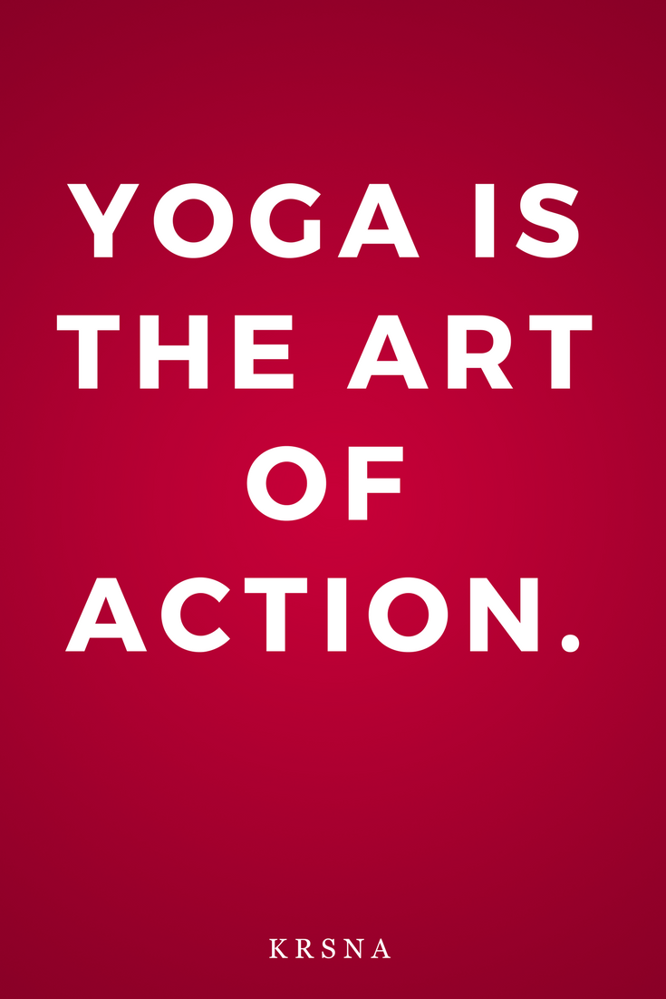 The Mirror of Yoga by Richard Freeman, Life, Inspiration, Quotes, Art of Action