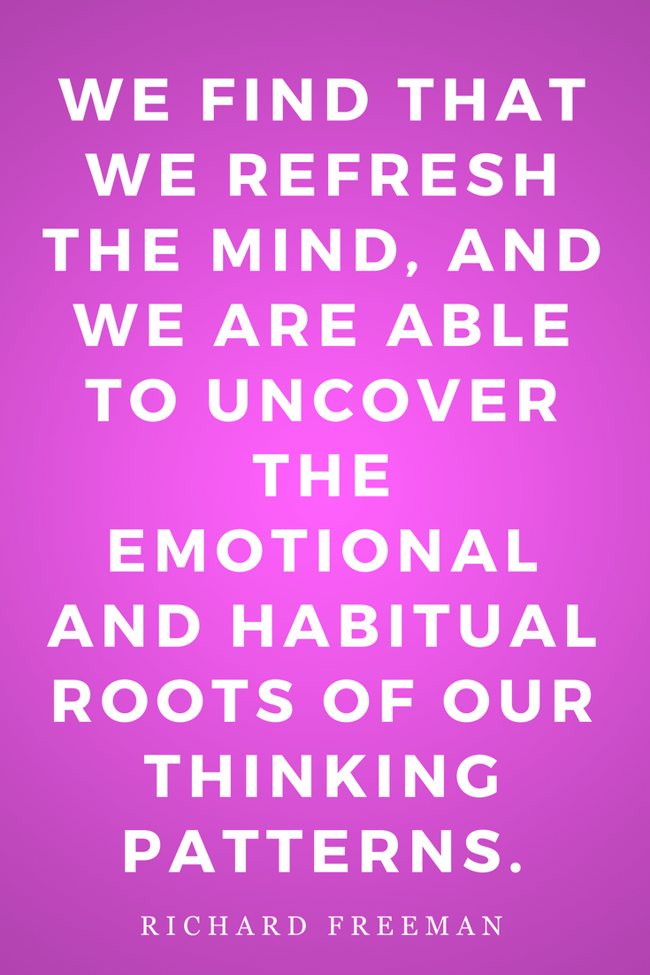 The Mirror of Yoga by Richard Freeman, Life, Inspiration, Quotes, Thinking Patterns