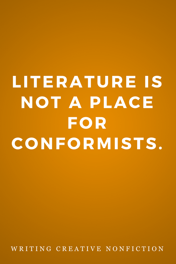 Writing Creative Nonfiction, Writers, Inspiration, Quotes, Books, Literature Conformists