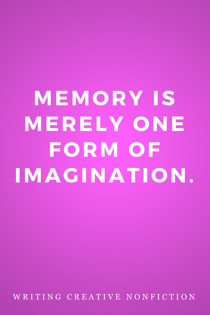 Writing Creative Nonfiction, Writers, Inspiration, Quotes, Books, Memory