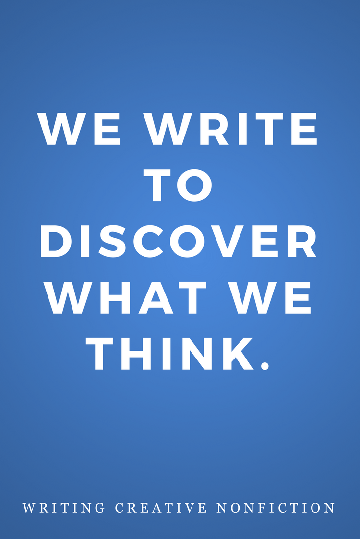 Writing Creative Nonfiction, Writers, Inspiration, Quotes, Books, Write Think