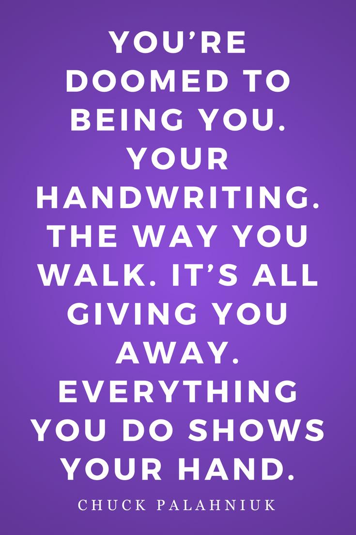Diary by Chuck Palahniuk, Novel, Inspiration, Quotes, Books, Handwriting