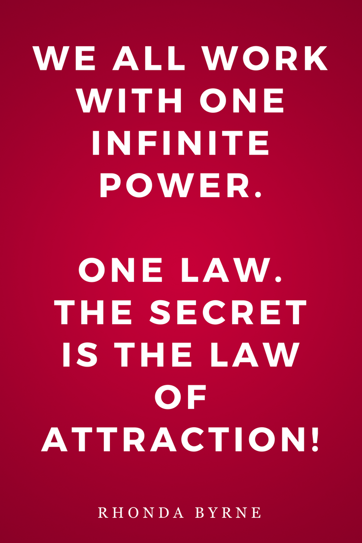 The Secret by Rhonda Byrne, Law of Attraction, Inspiration, Quotes