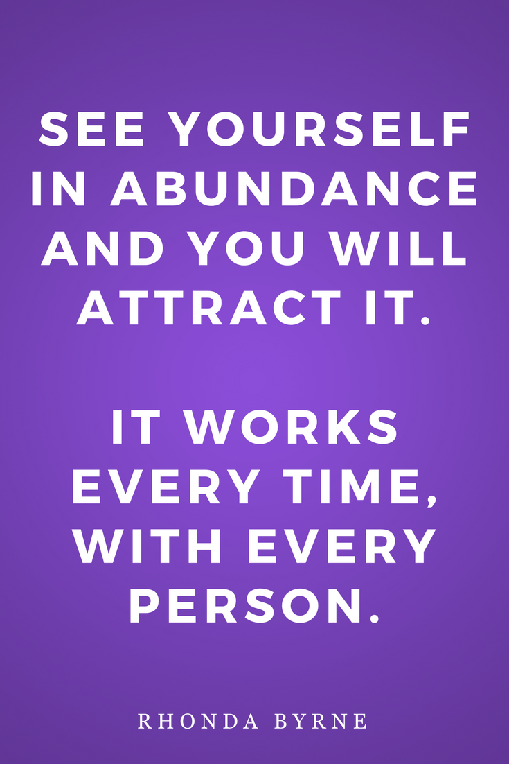The Secret by Rhonda Byrne, Law of Attraction, Inspiration, Abundance