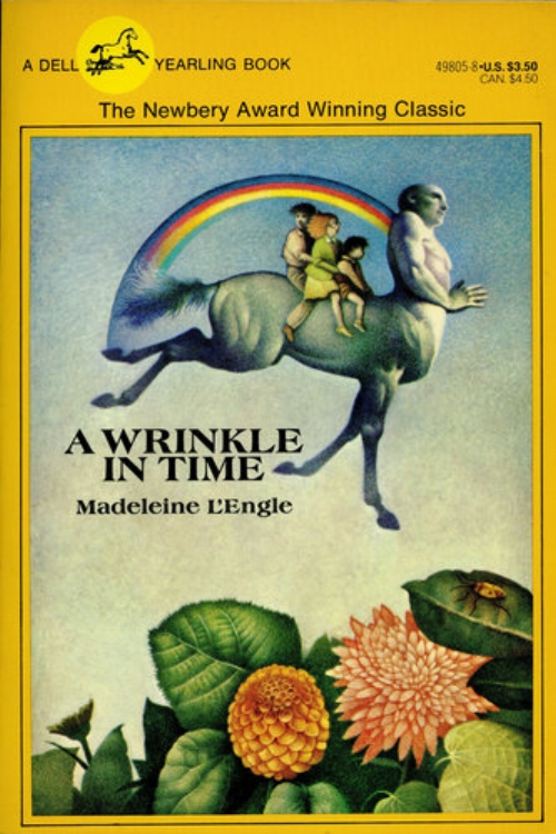A Wrinkle in Time by Madeleine LEngle Newbery Award Winning Classic Childrens Fantasy Sci Fi Novel.jpg