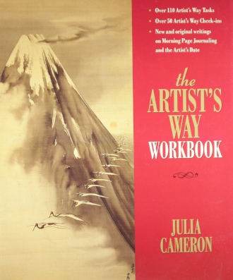 The Artists Way Workbook by Julia Cameron Creativity Books Inspiration.jpg