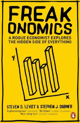 Freakonomics a Rogue Economist Explores the Hidden Side of Everything by Steven Levitt Book Novel.jpg