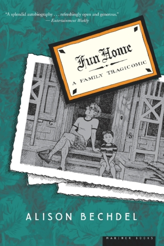 Fun Home Alison Bechdel Feminism Literature Midwest Book Blog