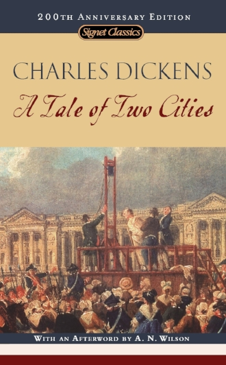 A Tale of Two Cities by Charles Dickens Classic Literature Novels Books Peace to the People.jpg