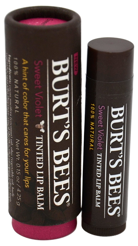 Burt's Bees Tinted Lip Balm, Sweet Violet, 0.15 Ounce.jpg