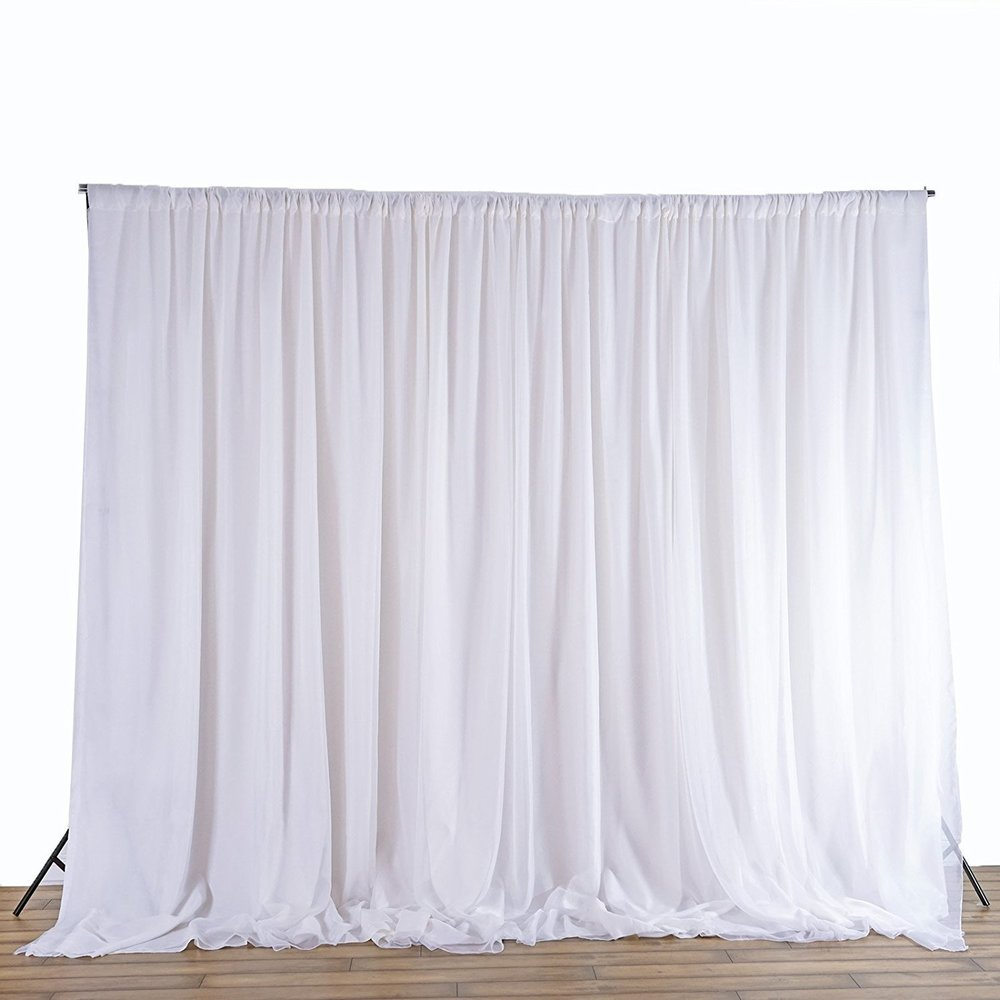 BalsaCircle 20 ft x 10 ft Fabric Backdrop Curtain - 2 colors available.jpg