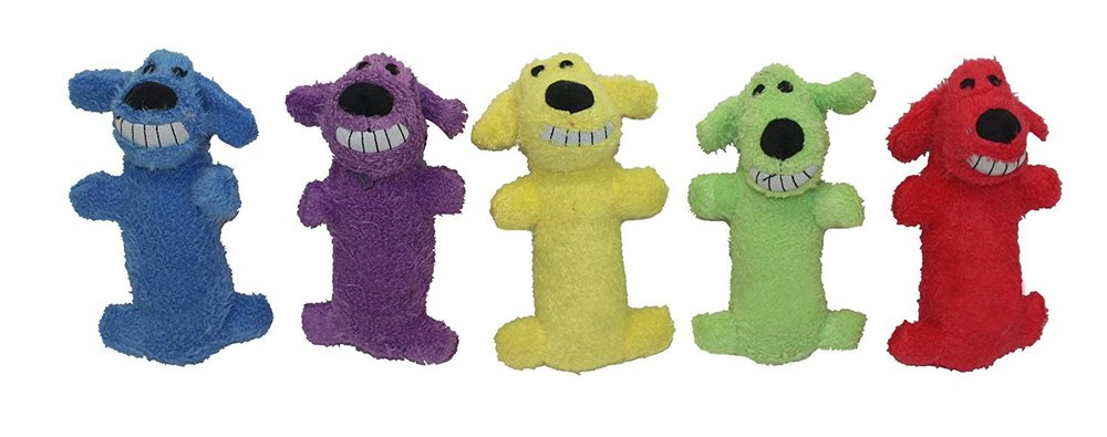Multipet International Original Loofa Dog Mini 6-Inch Dog Toy (Assorted colors).jpg
