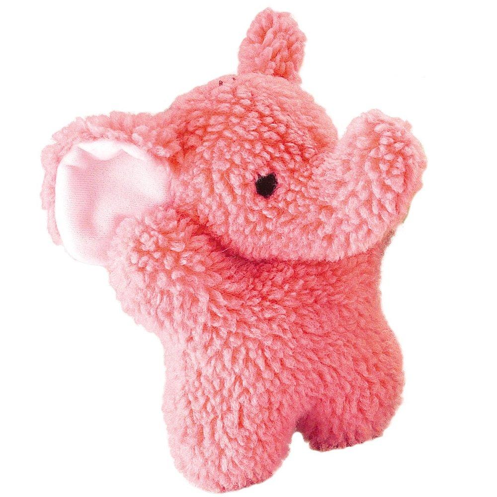 Zanies Cuddly Berber Baby Elephant Dog Toys, Pink.jpg