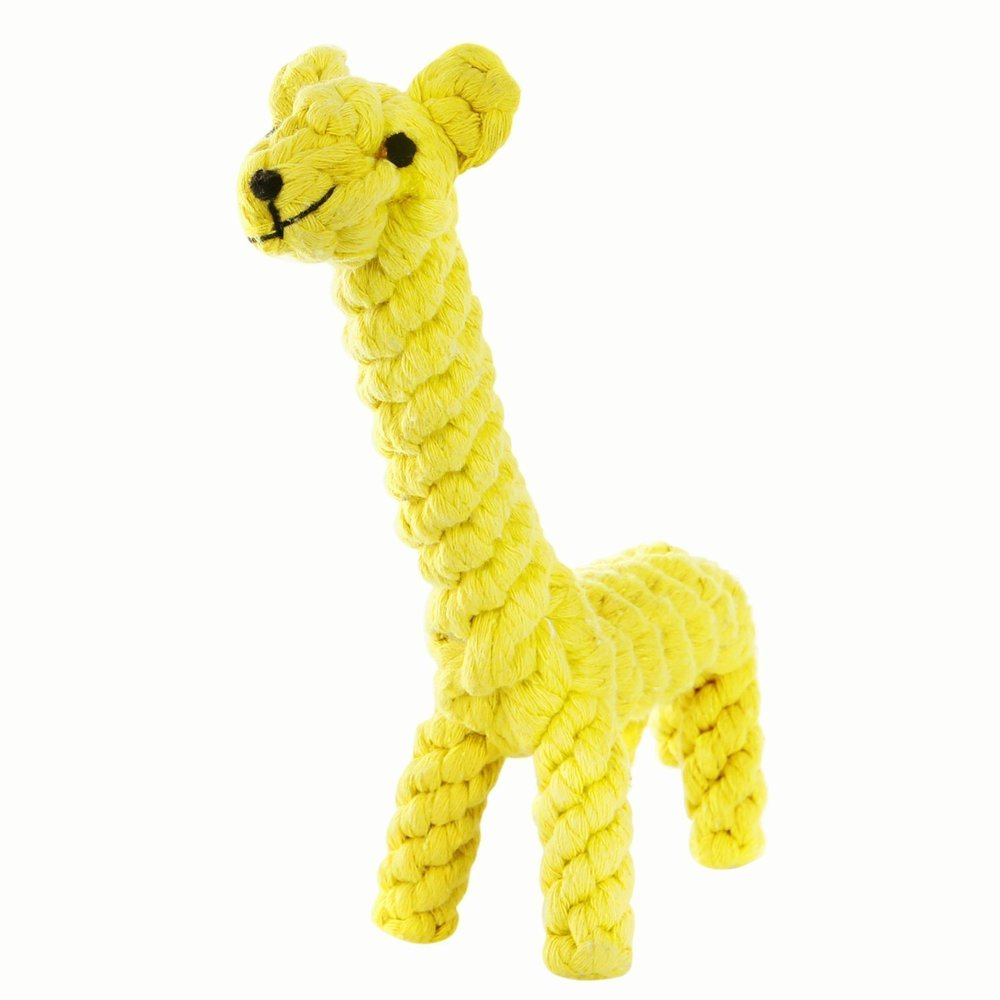 GOCooper Dog Toys, Cotton Dental Teaser Rope Chew Teeth Cleaning Toys Giraffe.jpg