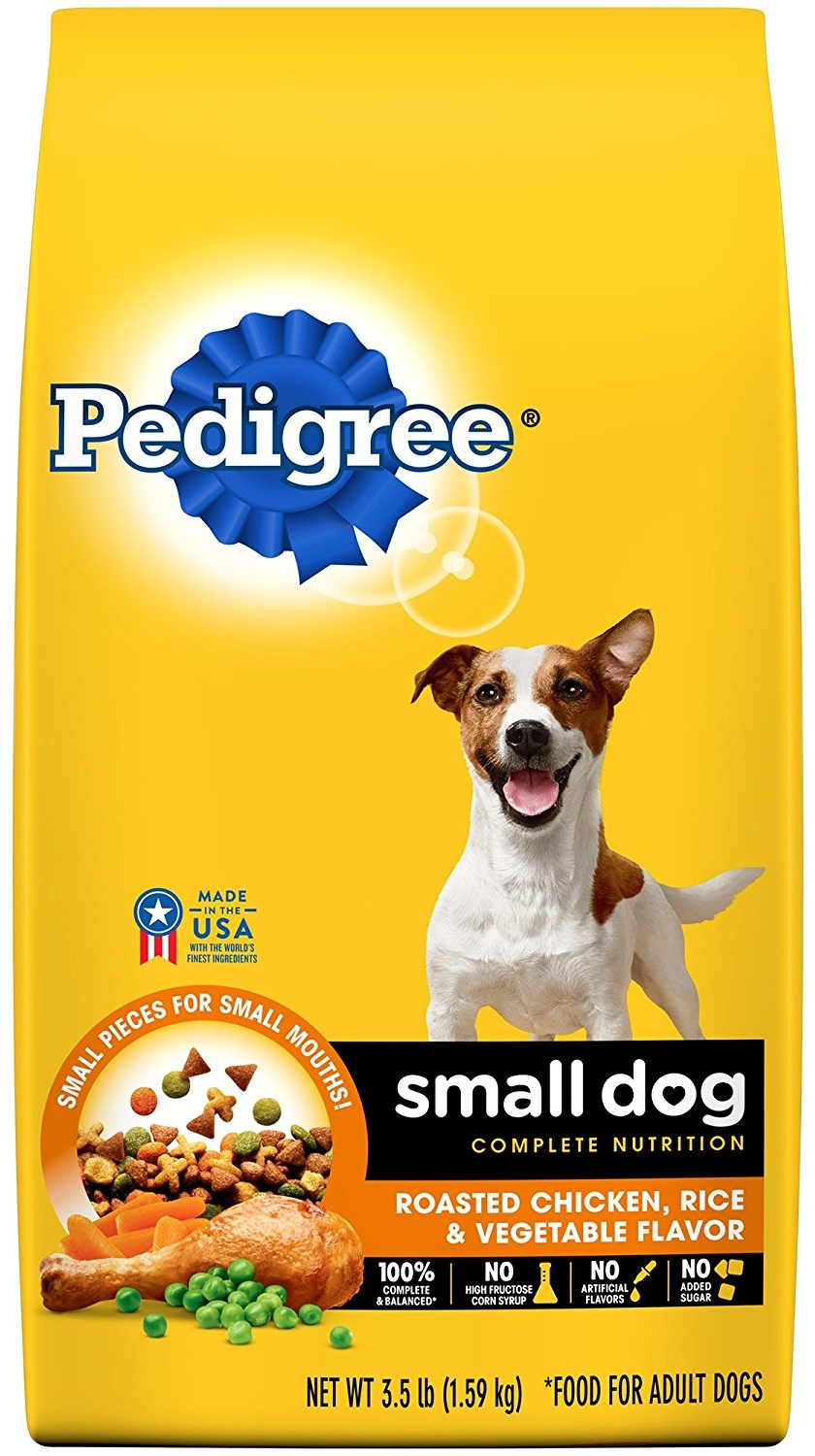 PEDIGREE Small Dog Adult Complete Nutrition Roasted Chicken, Rice & Vegetable Flavor Dry Dog Food 3.5 Pounds.jpg