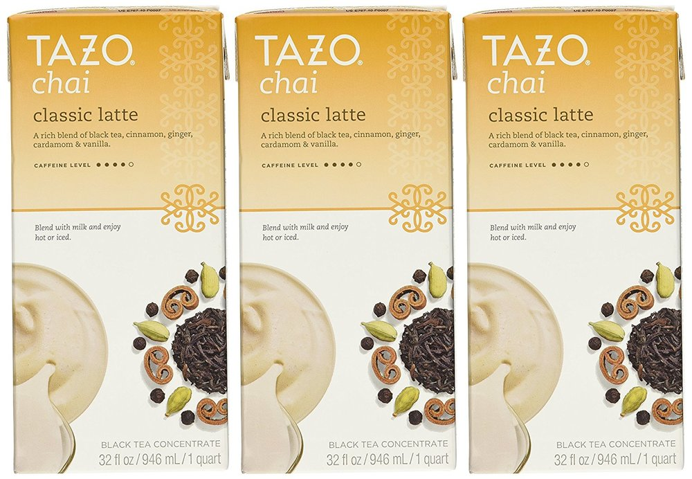 Tazo Chai Natural Spiced Black Tea Latte Concentrate 32-ounce Boxes (Pack of 3).jpg