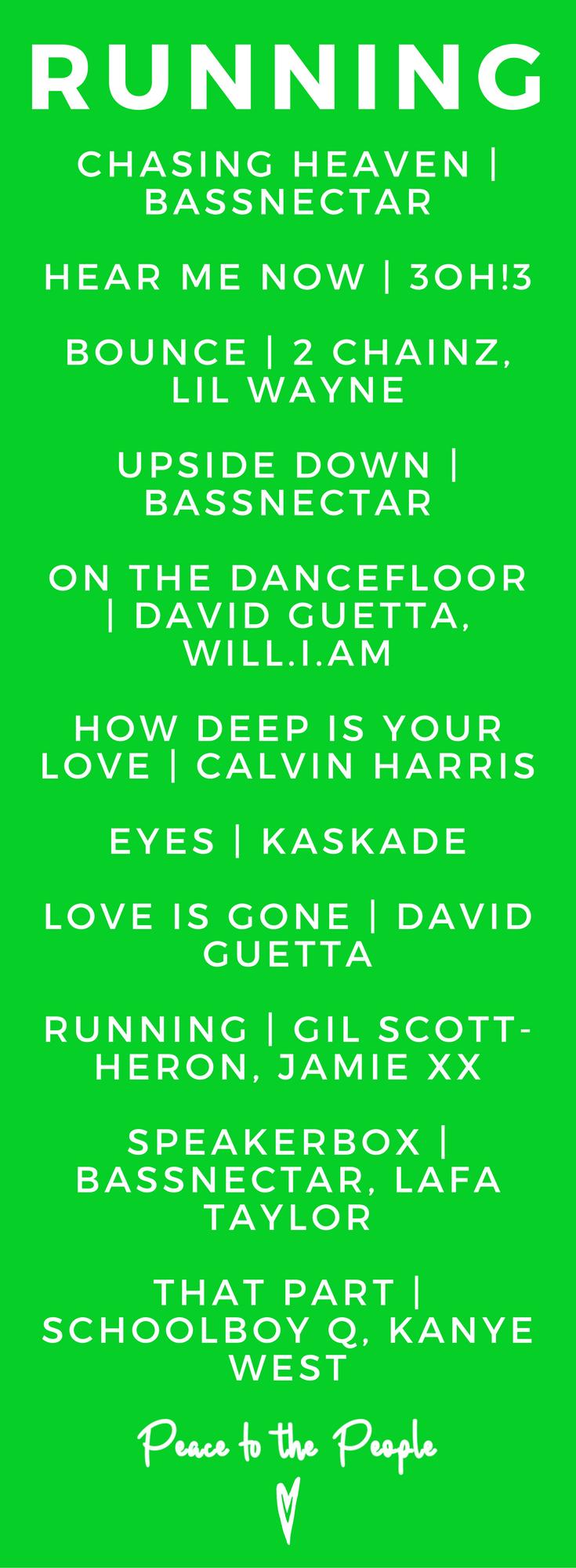 Running Fitness Playlist Music Rap Trap Bassnectar David Guetta Kanye West Calvin Harris.png