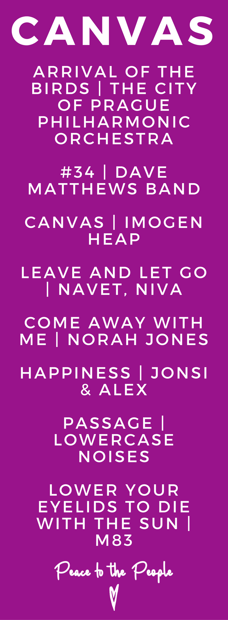 Canvas Gentle Relaxing Yoga Playlist Yin Vinyasa Imogen Heap Norah Jones Beautiful.png