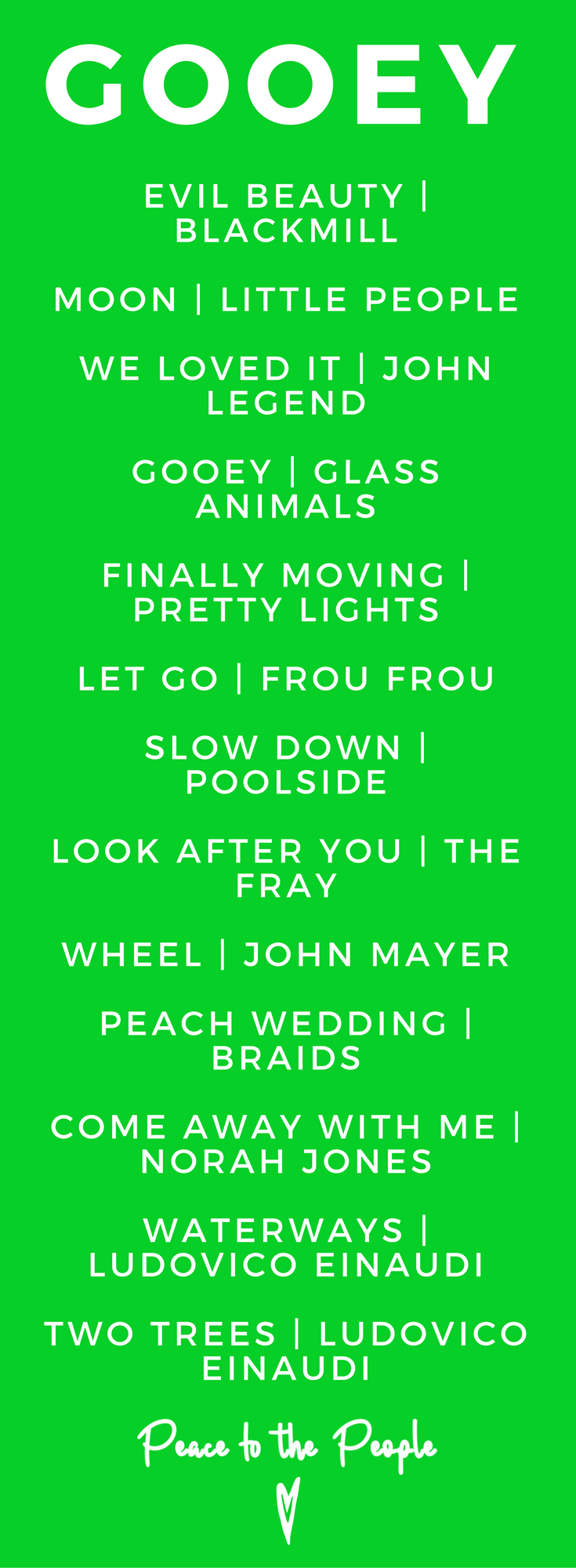 Gooey Glass Animals Yoga Playlist Peaceful Beauty Music Fitness.png