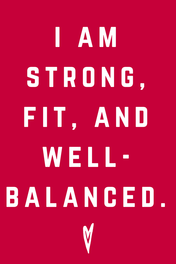 I Am Strong Fit and Well Balanced • Quote Inspiration Mantra Positive Affirmation Peace to the People • #affirmations #inspiration #selflove.png