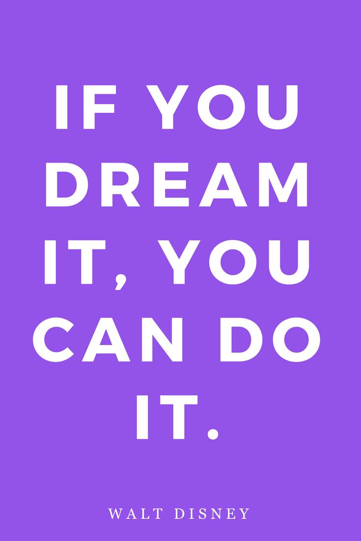 Walt Disney, Dreams, Inspiration, Quotes, Books, Goals.png