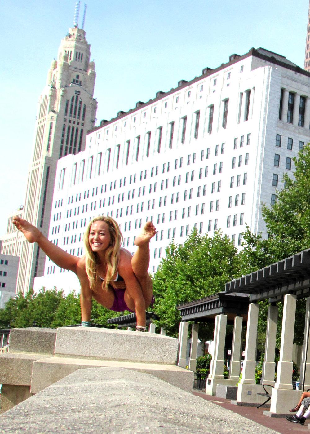 Peace to the People Portrait Photography Columbus Ohio Kino MacGregor Yoga Yogini 4.jpg