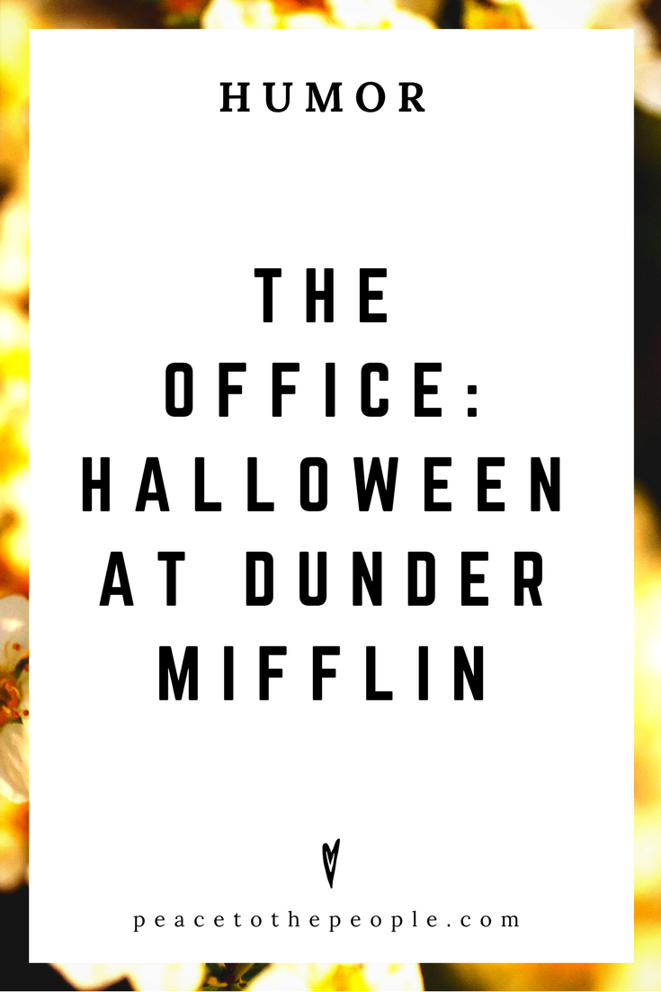 The Office • Halloween at Dunder Mifflin • Comedy • Culture • Hilarious •  LOL • Funny Videos  • Peace to the People